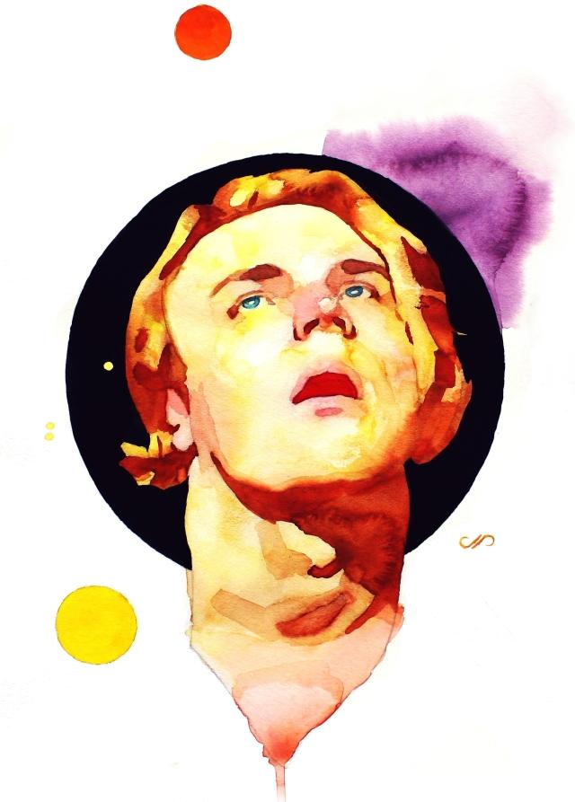 Self-Portrait In Orbit-site